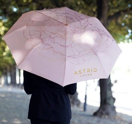 roosa vihmavari loven