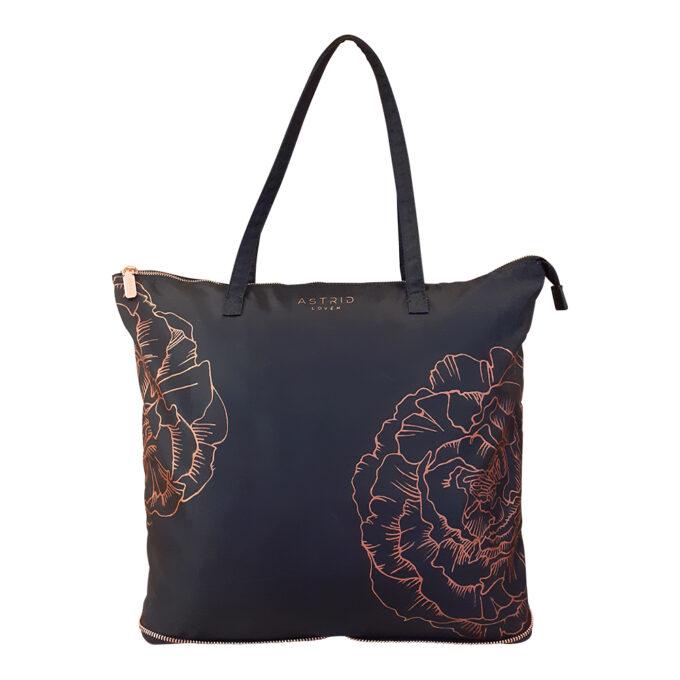 travel bag shopping bag joga bag hand painted unique astrid loven