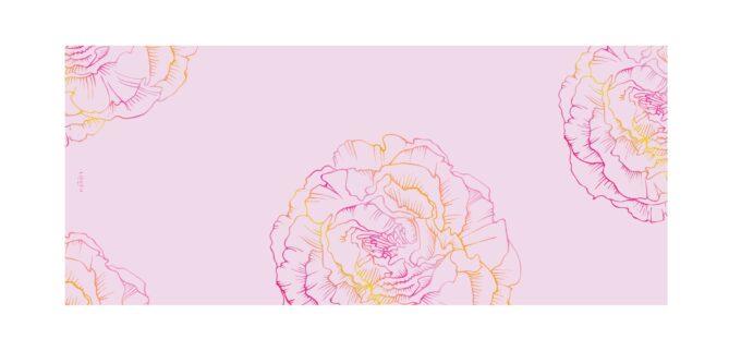 Roosa sall 180x70 Loven design