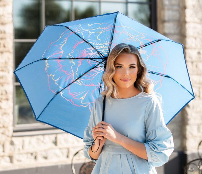 sinine vihmavari naistele loven