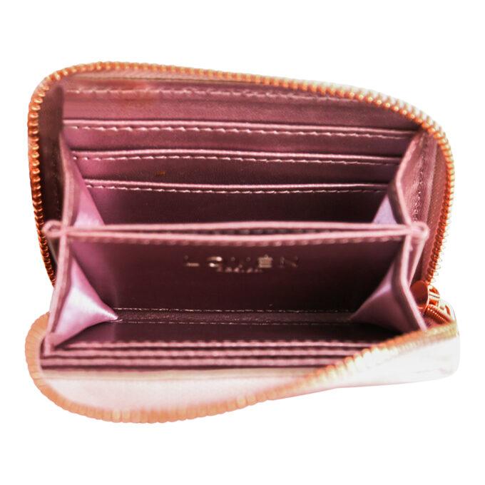 Väike roosa rahakott sisu LOVÉN RECYCLED