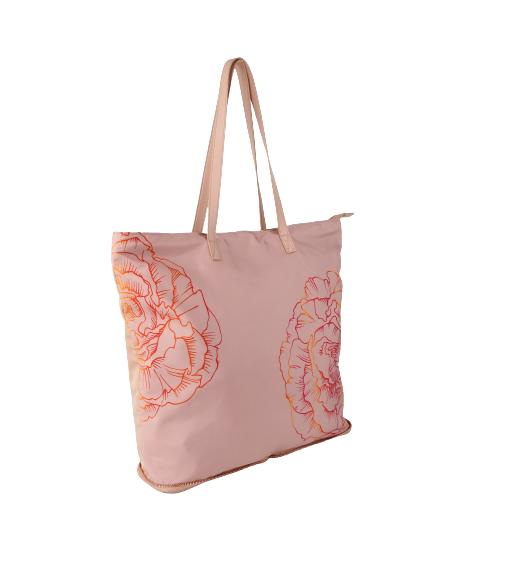 shopper bag pink - loven
